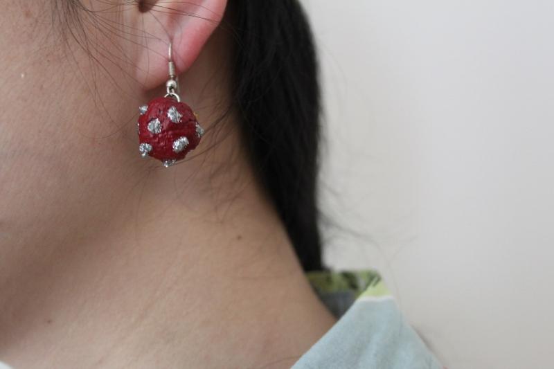 D I Y Paper Earring