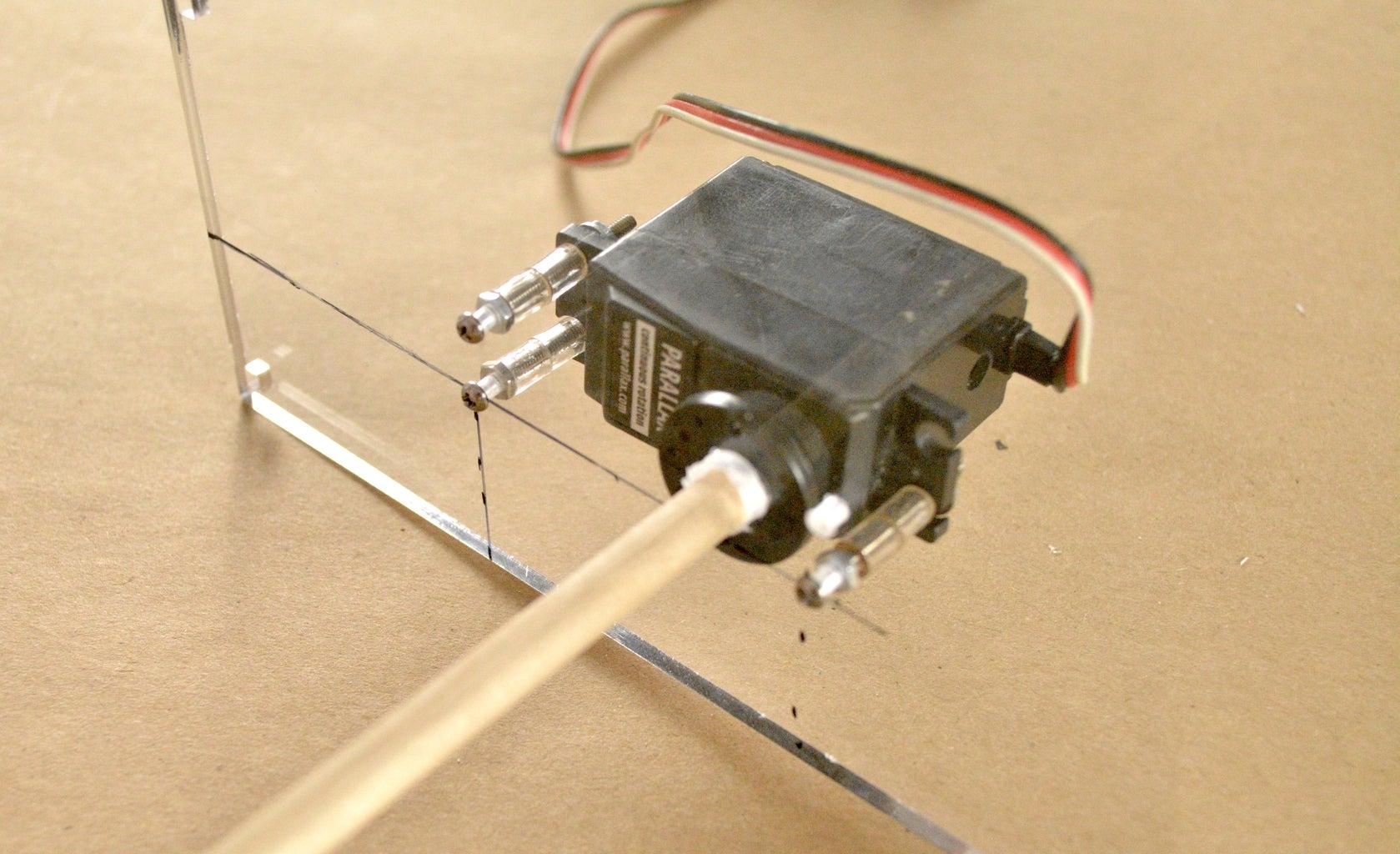 Attach Motor and Arduino