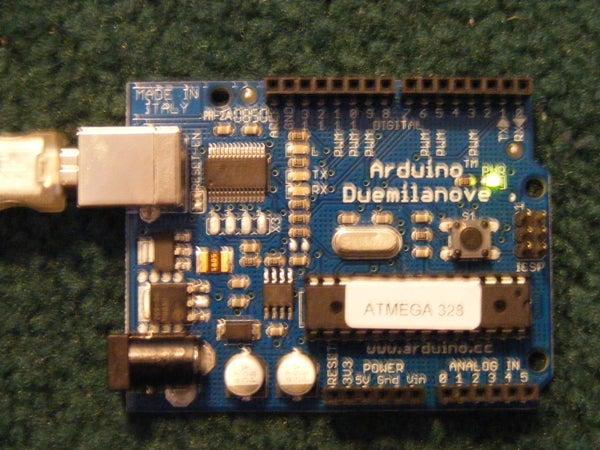 Arduino Based Serial Servo Controller