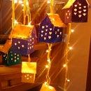 tiny cute house windshime...