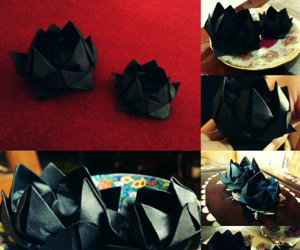 Sherlock Black Lotus Origami.