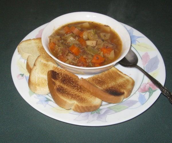 Deli Roast Beef & Cabbage Stew