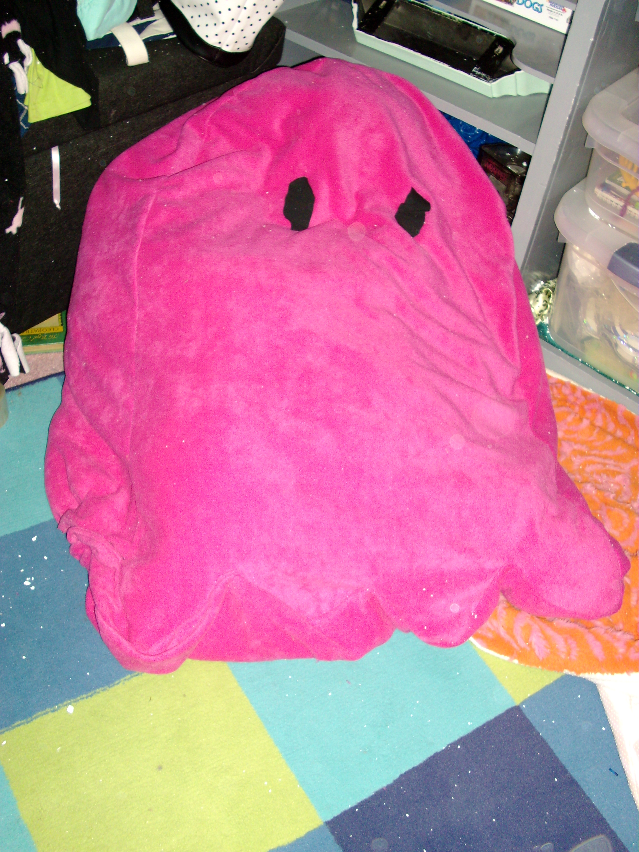 Pacman Ghost Bean Bag Chair