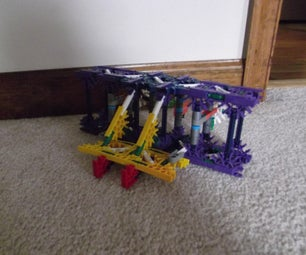 The Wright Brother's First Areoplane (of Knex)