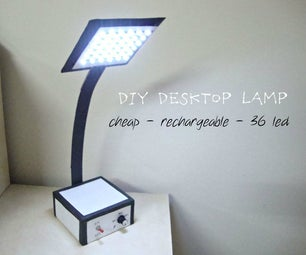 Make Your Own Desktop LED Lamp