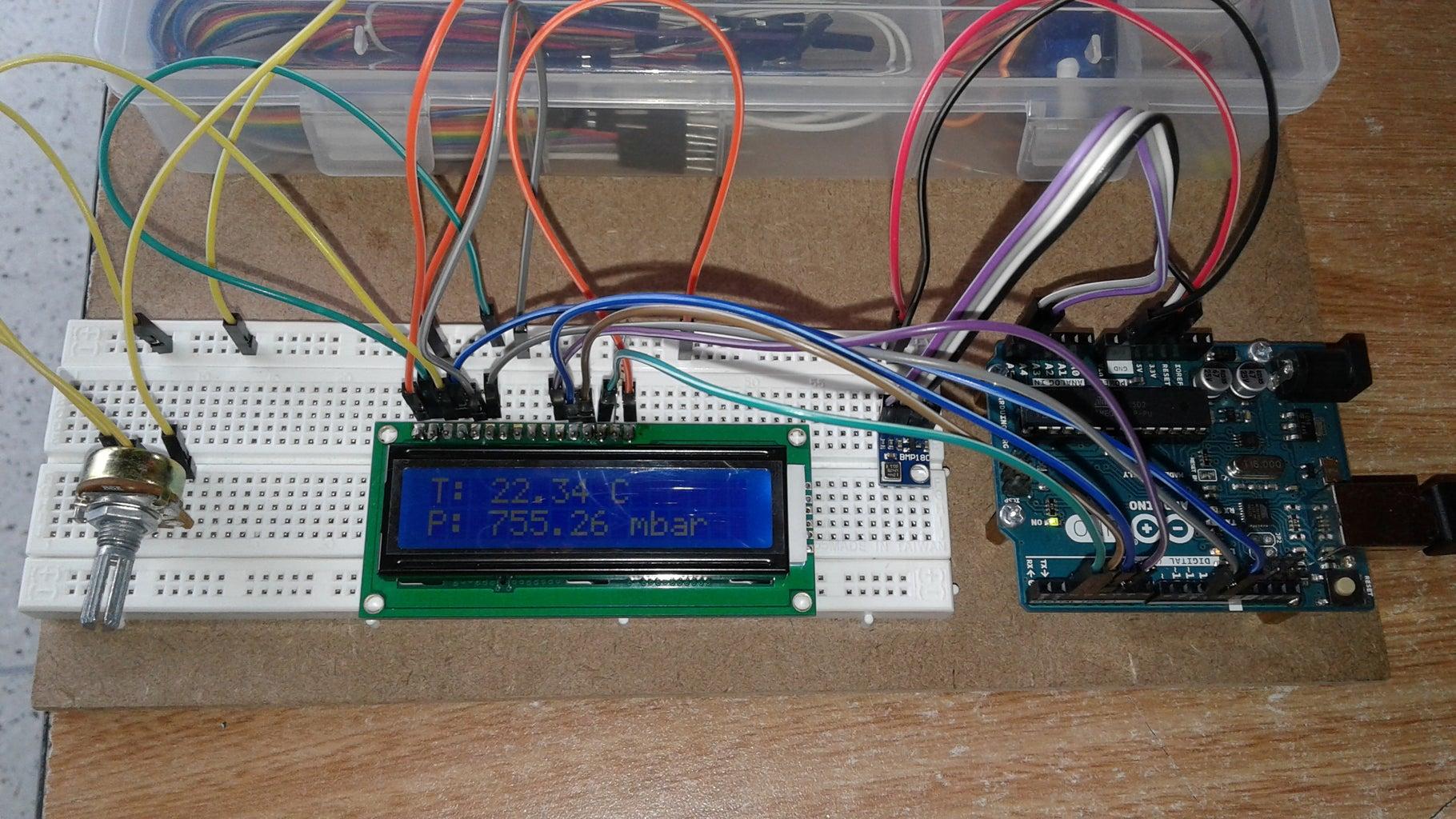Mini Estación Meteorológica Con Arduino