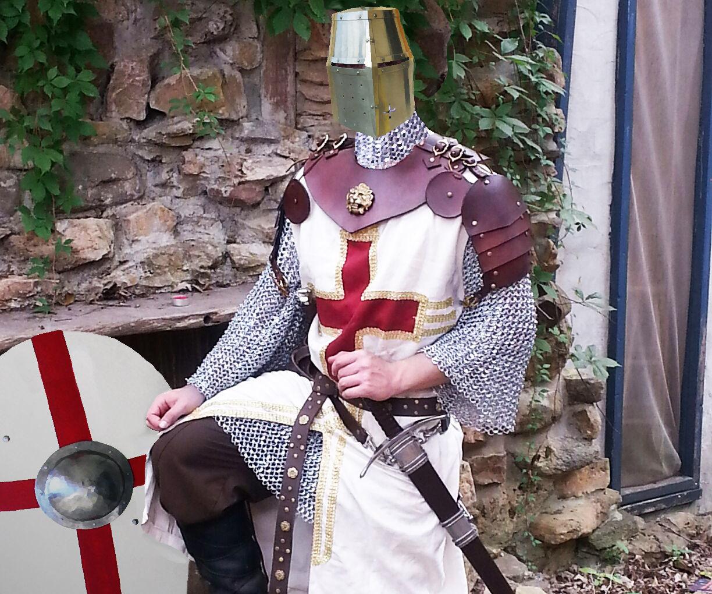 Battle ready medieval leather armor