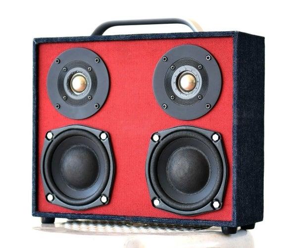 Build a Bluetooth Boombox Speaker (from Scratch)