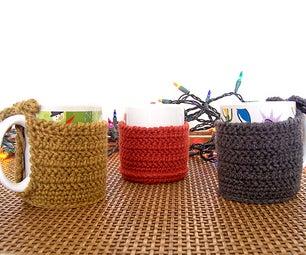 Crocheted Mug Cozies