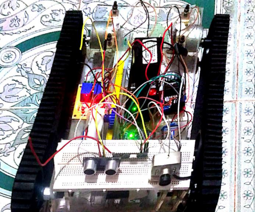 EMBEDDED SYSTEM BASED ROBOT FOR MILITARY APPLICATION