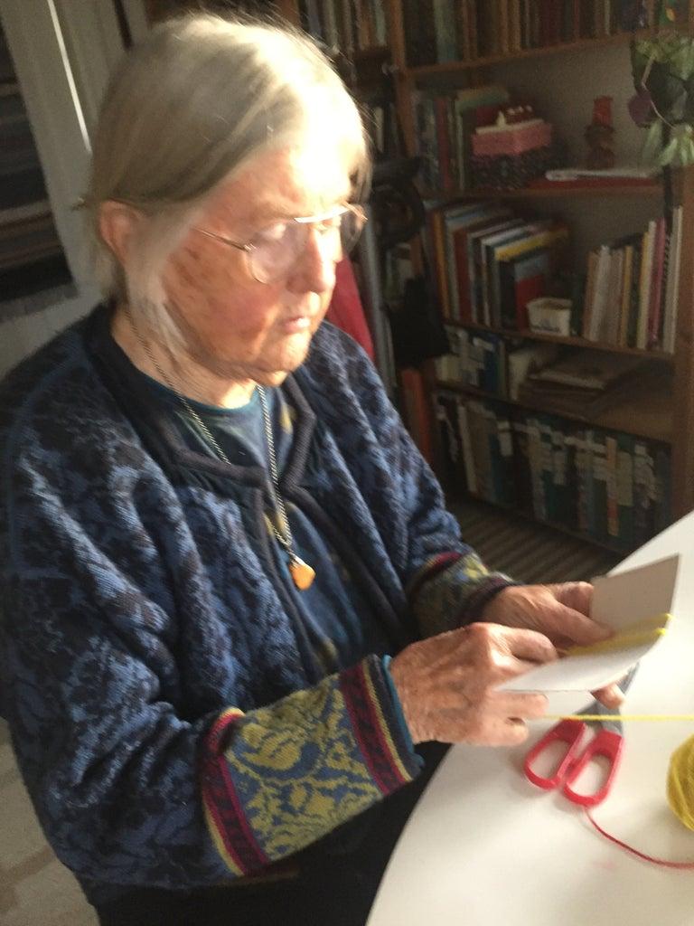 Grandma's Fluffy Pom-Pom Techniques