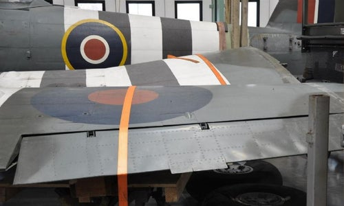Modelling a Hawker Typhoon 1B Covered With Lithoplate
