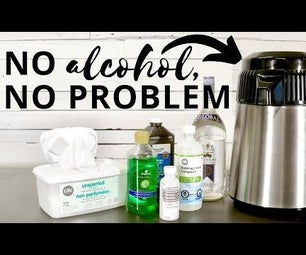 3 Homemade Hand Sanitizer Recipes (Rubbing Alcohol Alternatives)