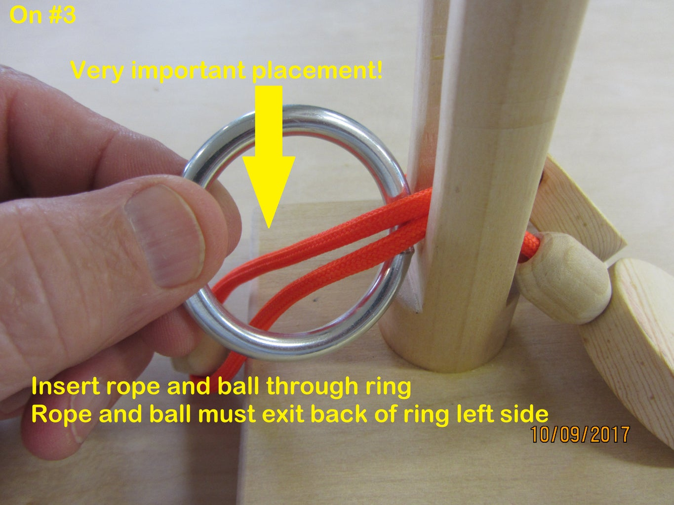 Solution - Install the Ring - Step by Step