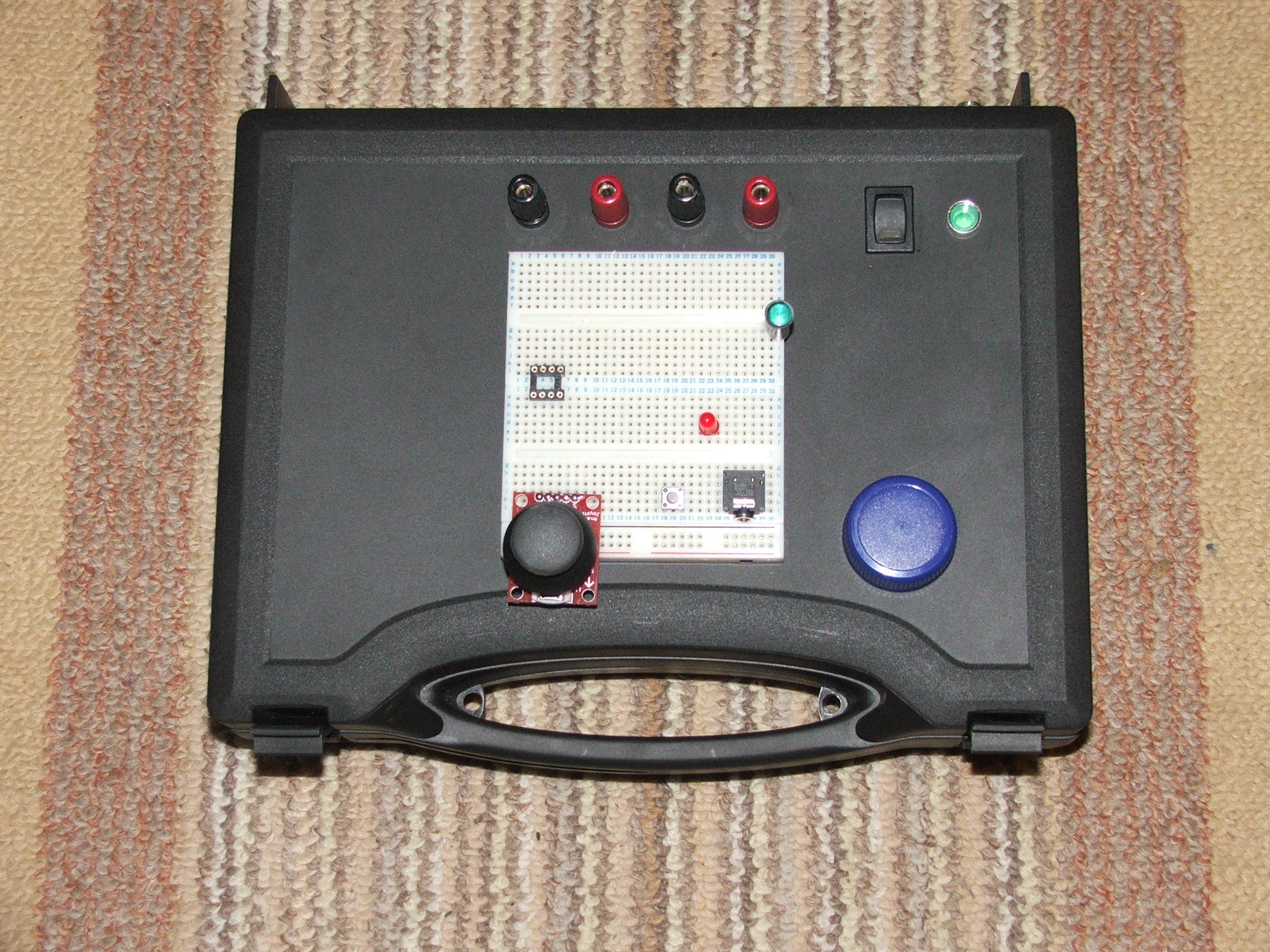 Easy prototype breadboard unit with DUAL PSU's and less then $10