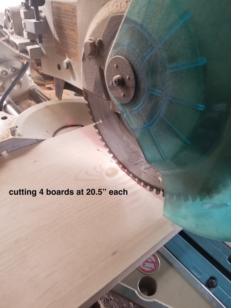 Making the 2 Side Sections