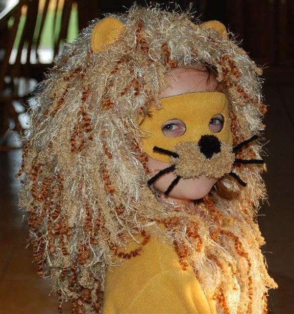 Lion Halloween Costume.