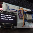 Weather Station Using Wemos D1 Mini, BME280 and Sensate.