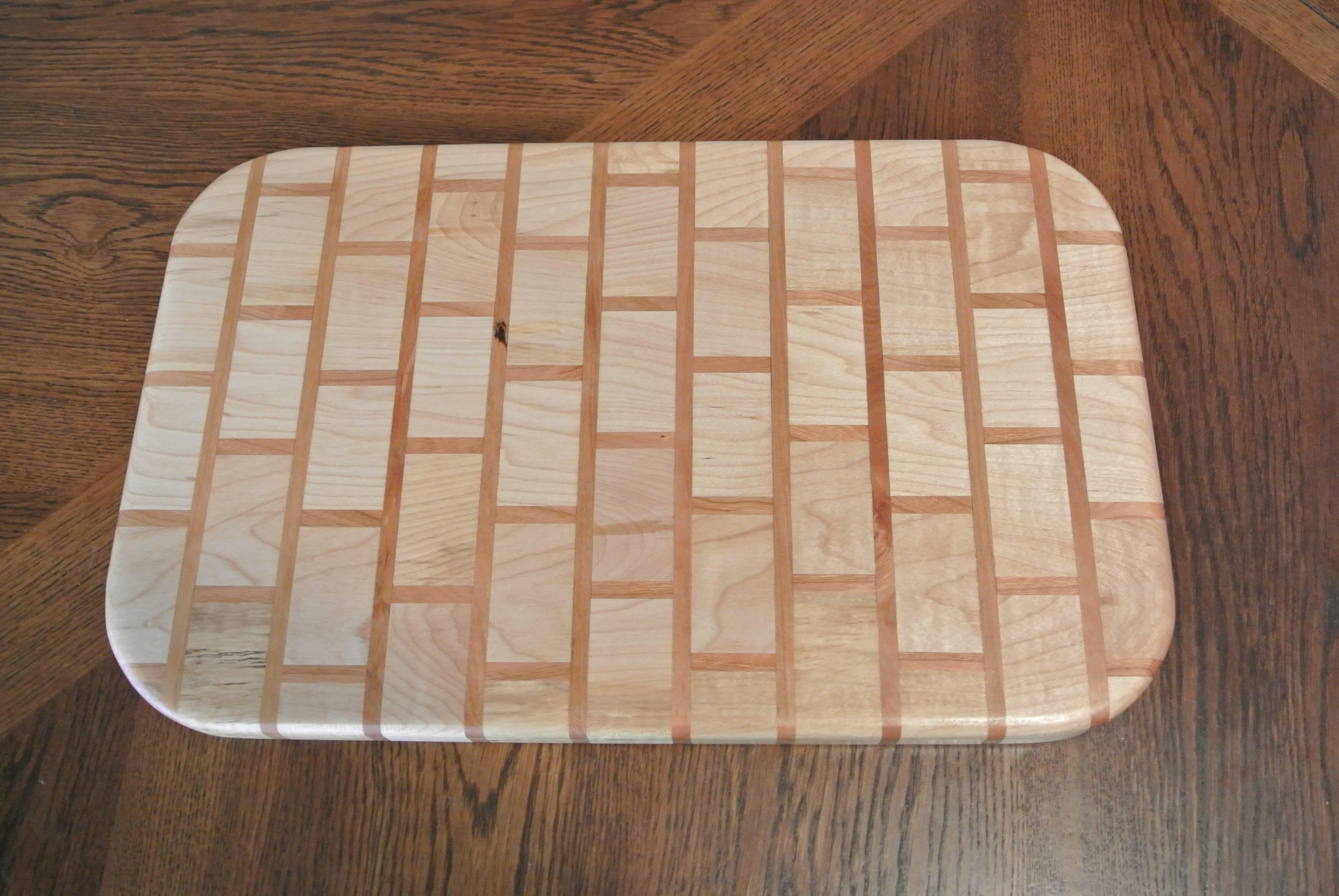 How To Make A Brick Pattern Cutting Board