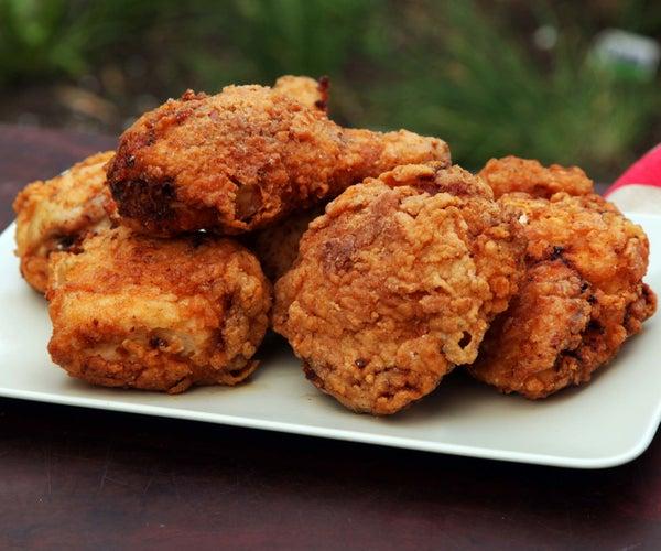 How to Cook Gluten Free Buttermilk Fried Chicken