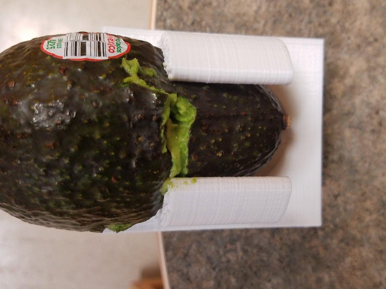 Flipping and Placing Avocado