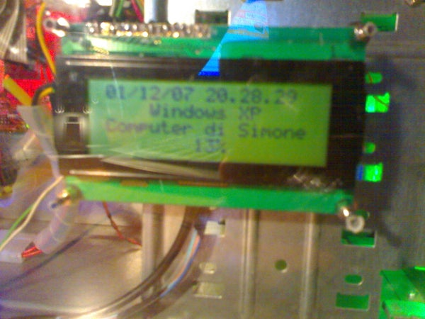 Display Lcd Chip Hd44780 for Pc Modding
