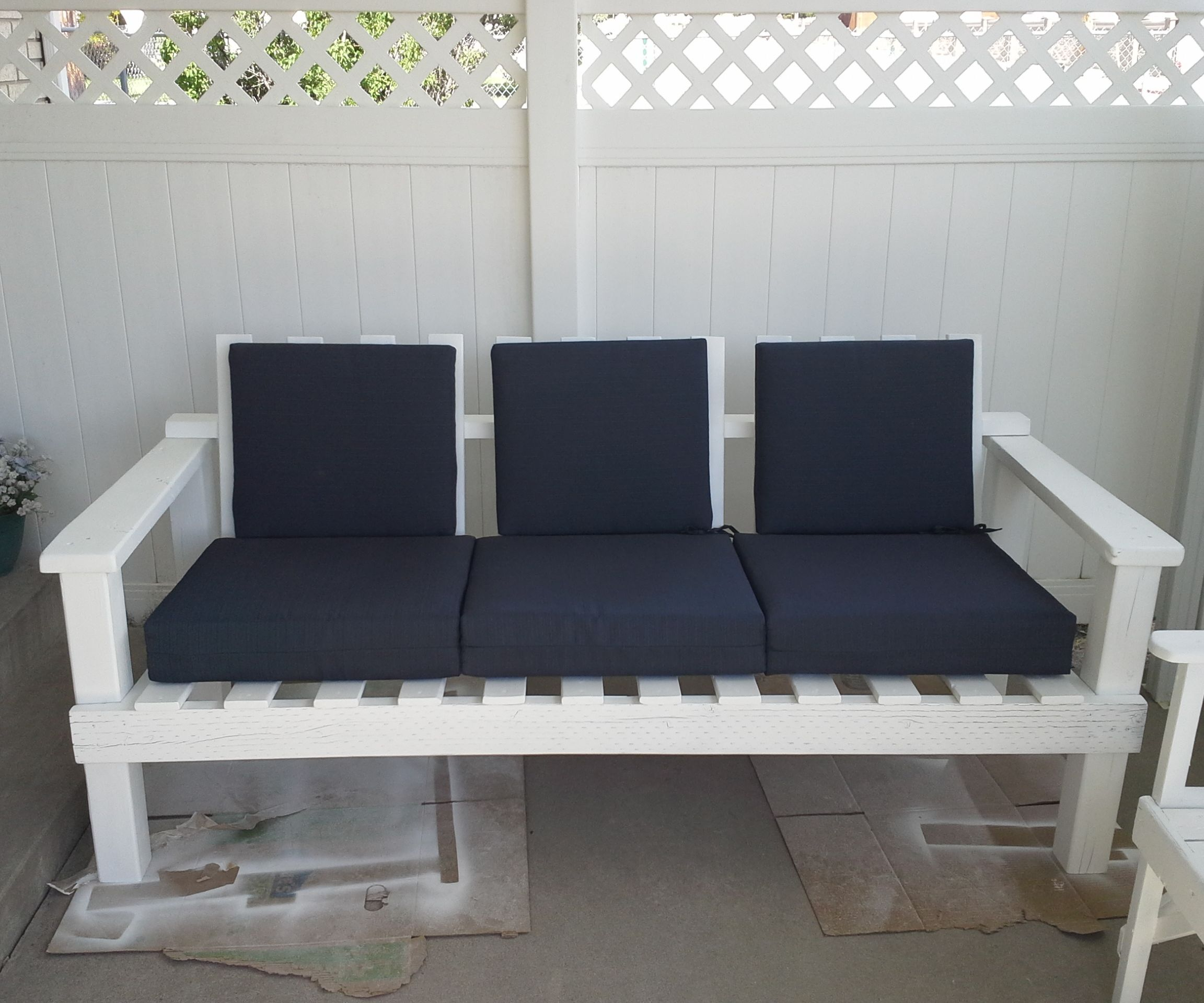 Comfortable Outdoor Couch
