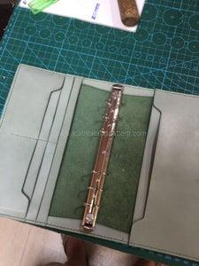 Install A6 Size Loose Leaf Binder.