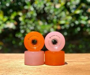 Custom Dyed Skate Wheels