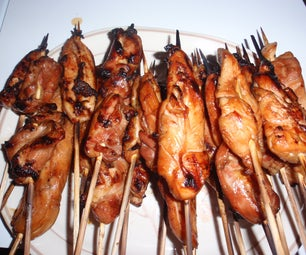 Meat Onna Stick (aka. Chicken Teriyaki)