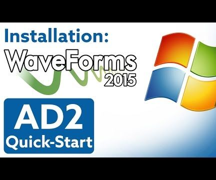 How to Install WaveForms 2015 in Windows