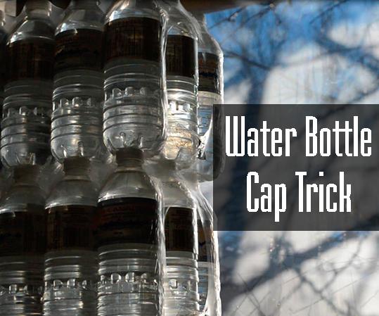 Water Bottle Cap Trick