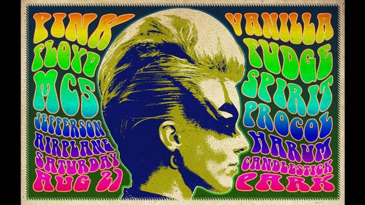 How to Make a 1960s, Psychedelic Music Poster in Photoshop