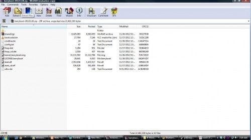 SD Card Preperation
