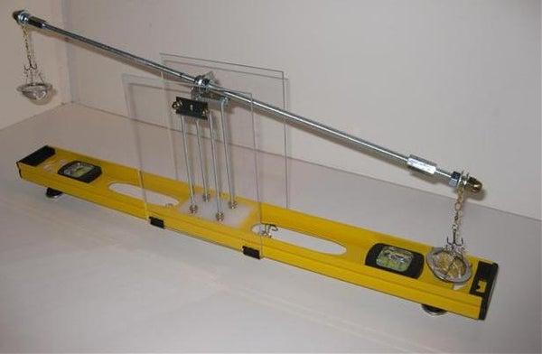 Razor Blade Equal-Arm Beam Balance Micro Scale