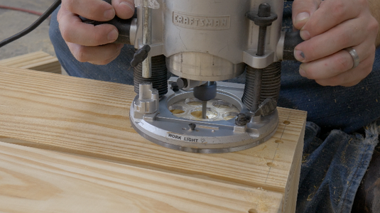 Assemble the Parts for the Legs and Attach Them to the Bottom of the Sandbox