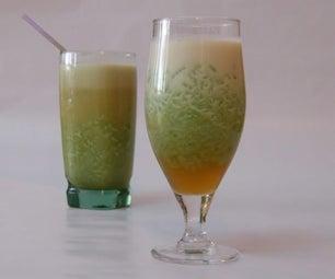 Indonesian Rice Flour Jelly Drink (Es Cendol)