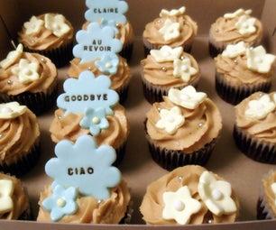 Daisy Farewell Cupcakes