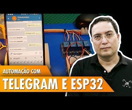 Automation With Telegram and ESP32