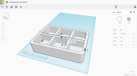 Base of Holder - Pt. 3 - Make Rooms