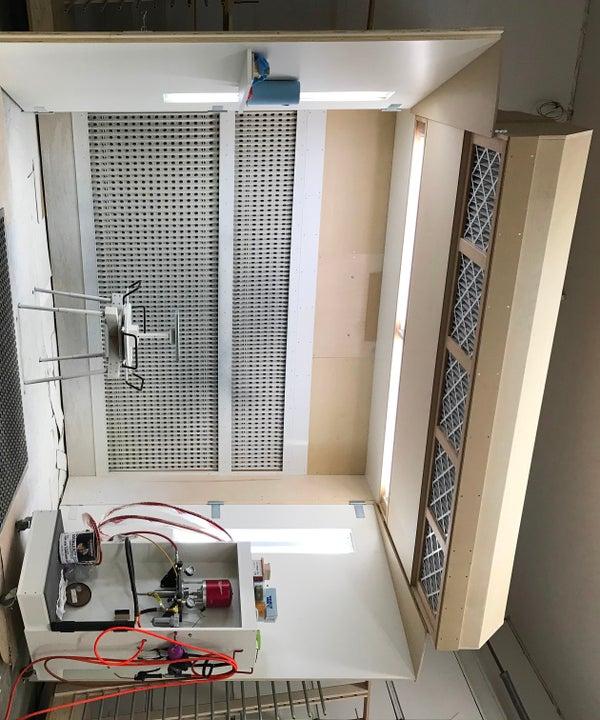Recirculating Air Spray Booth