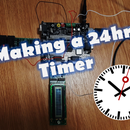 24hr Timer: coding for and applying to a circuit