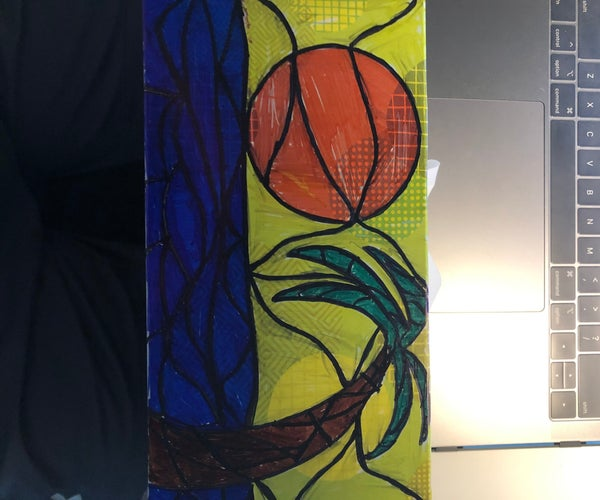 Easy Stained Glass Image