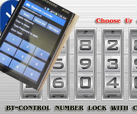 Linkit One BT - Number Lock With Custom Number