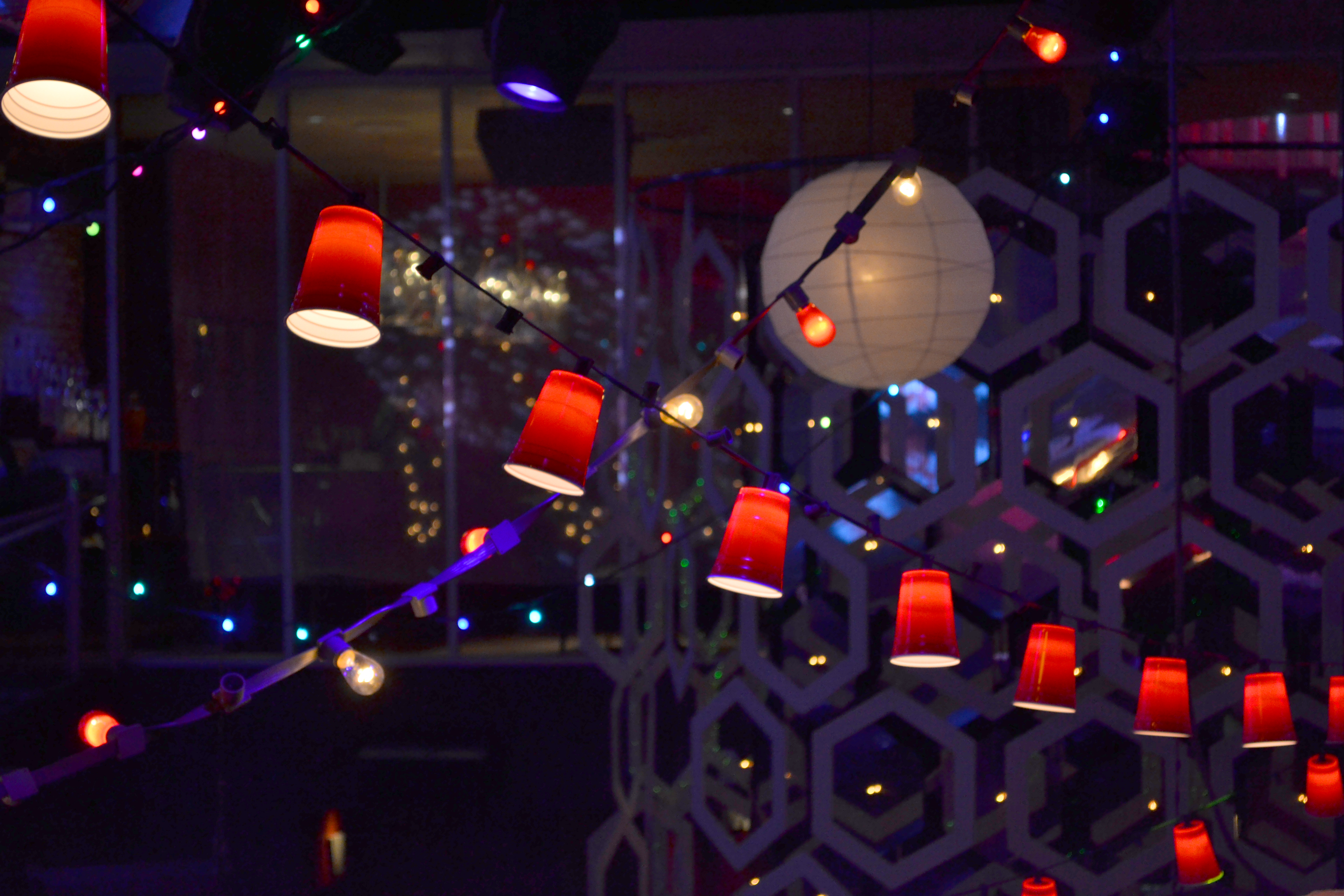 Red Plastic Cup Party Light String