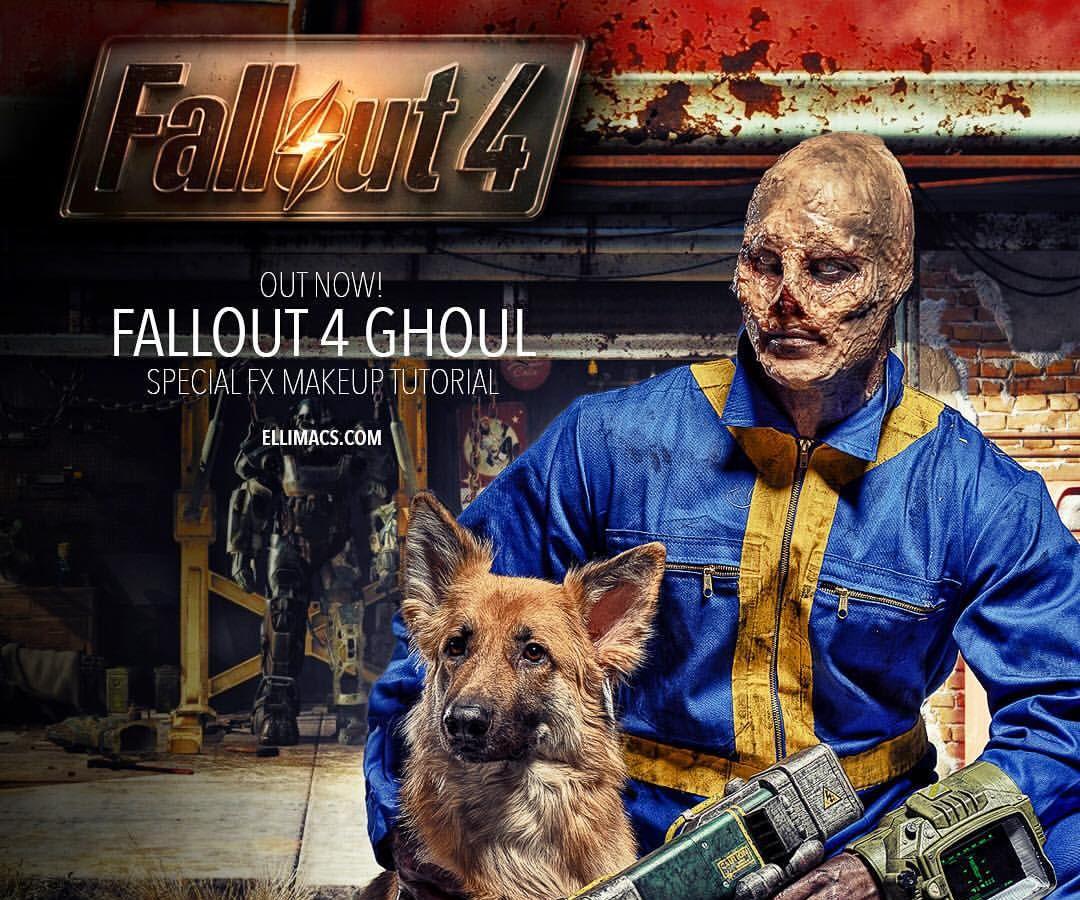 Fallout 4 Ghoul - SFX Makeup Tutorial