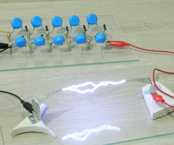 DIY Flyback Trafo Cockroft-Walton  Voltage Multiplier(110.000 Volts)