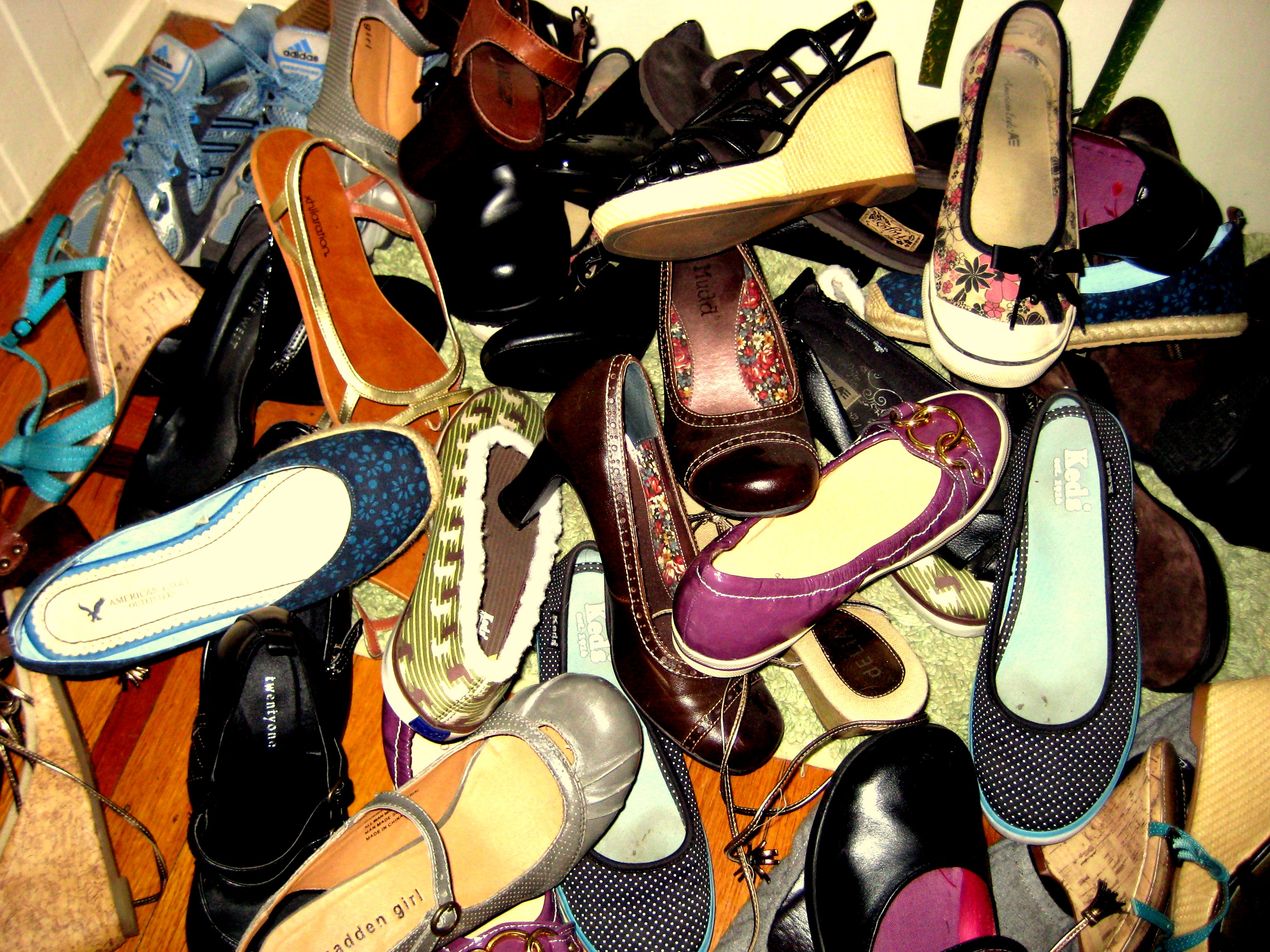 Girls Just Wanna Have.. Another Shoe Rack