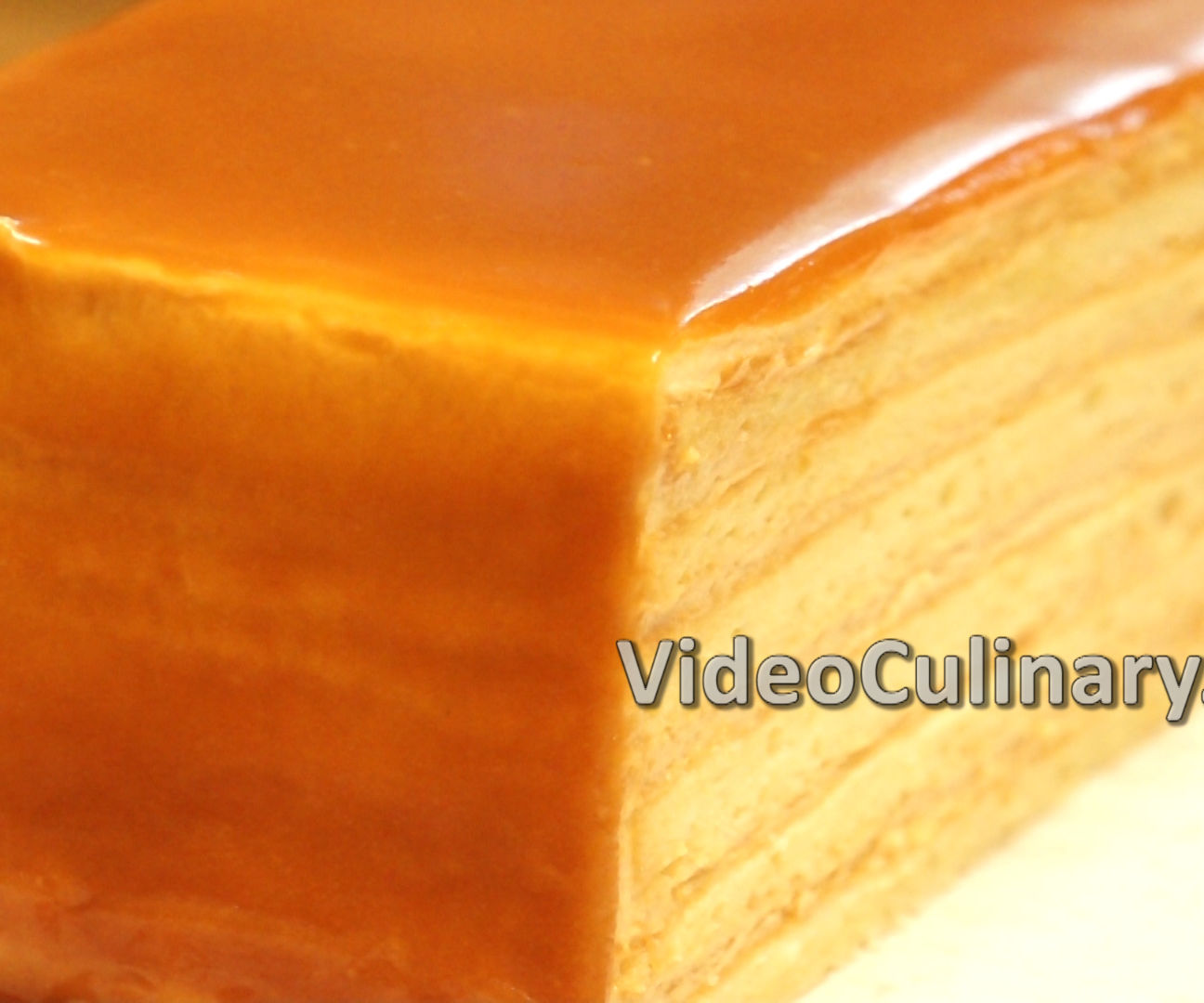 Caramel Layer Cake Recipe