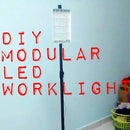 DIY Mobile Modular LED Worklight + Battery Pack From E-Waste